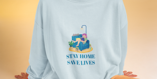 Tシャツ着てステイホーム